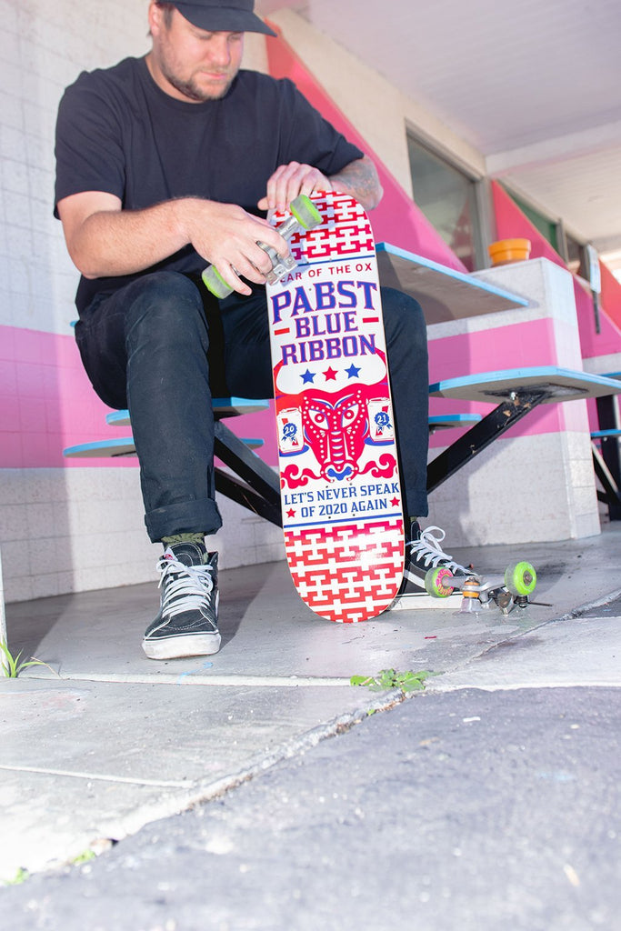 Pabst Year Of The Ox Skate Deck