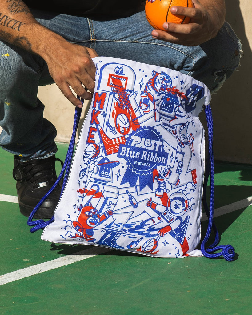 Pabst x Adam Rosenbaum Draw String Bag