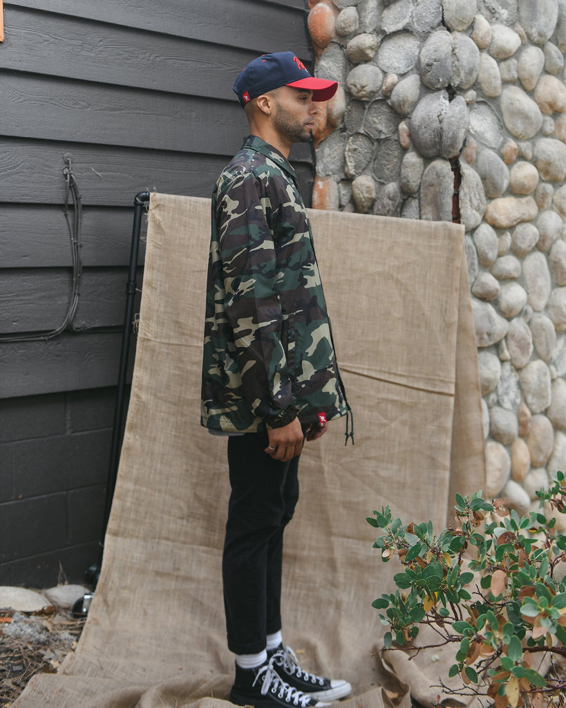 Camo Banner Coaches Jacket