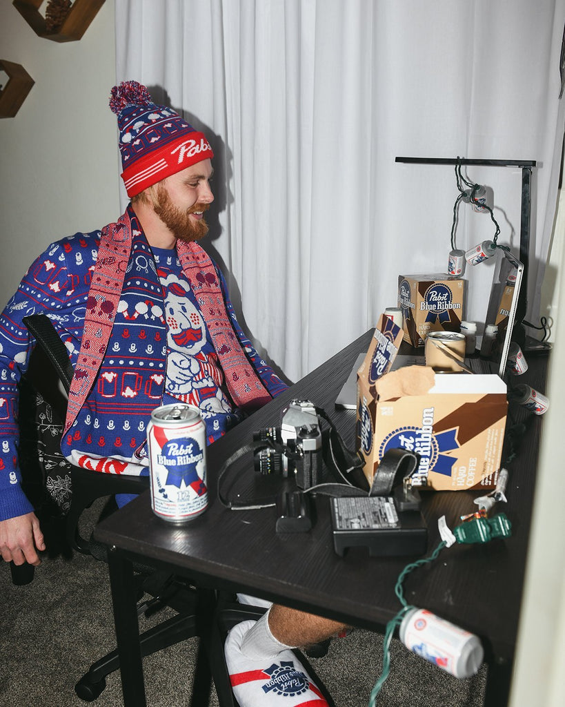 Pabst 2020 Christmas Sweater