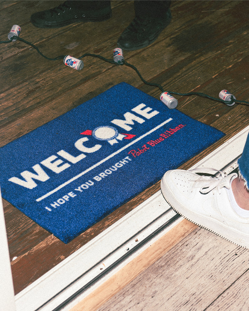 PBR Welcome Mat
