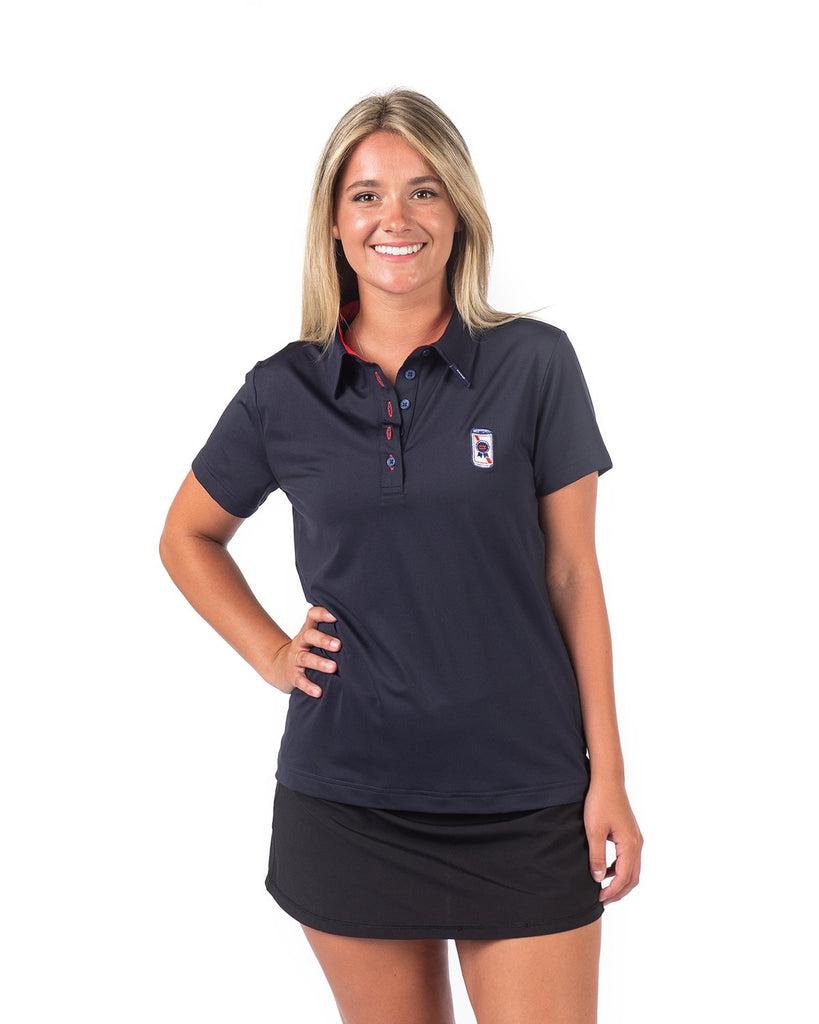 PBR x =RANGE= GOLF Women's Can Polo