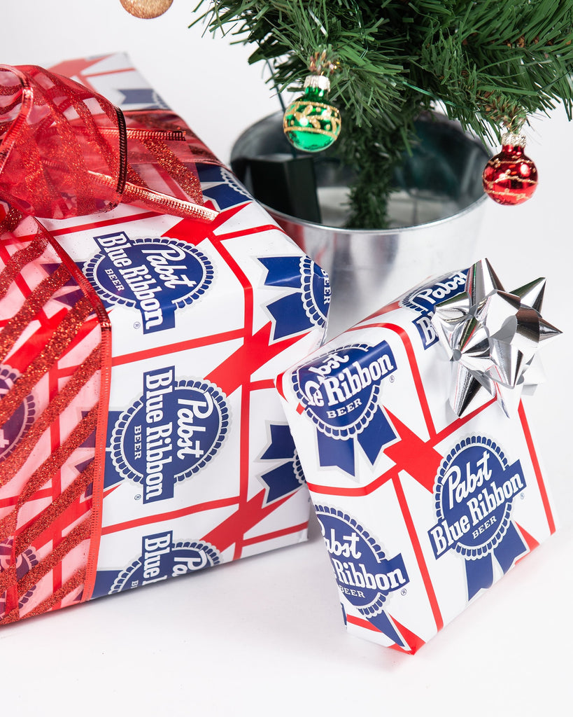 PBR Gift Wrapping Paper - Pabst Blue Ribbon Store