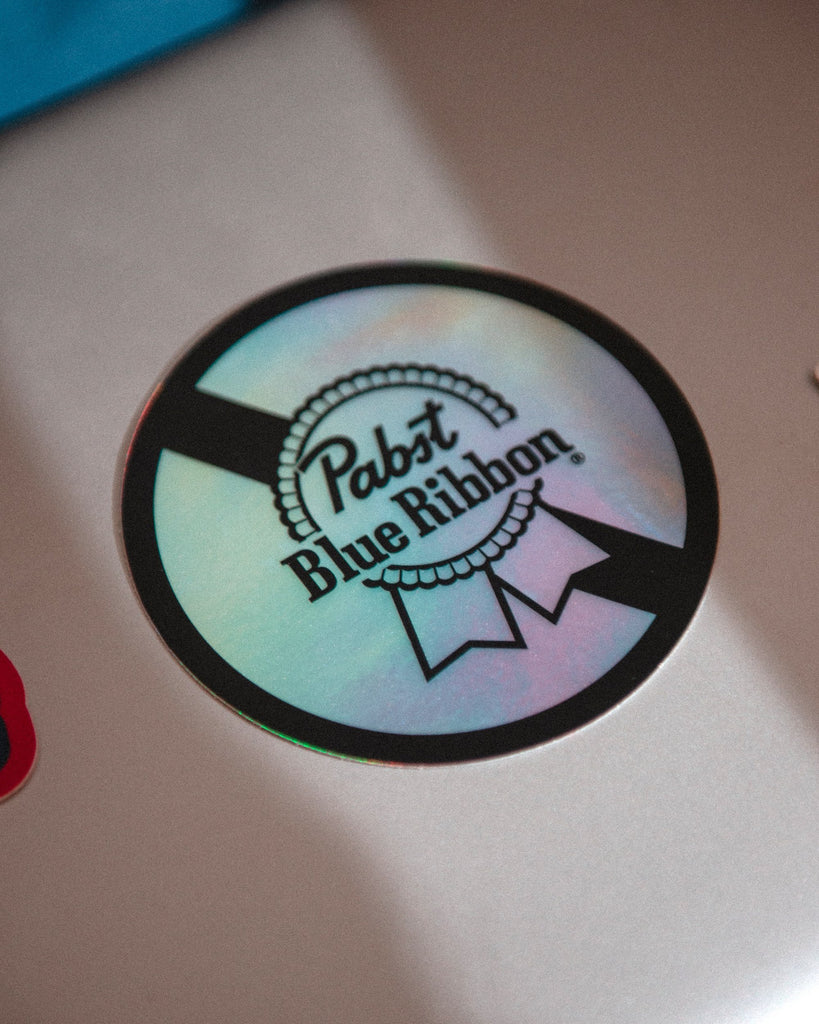 PBR Classic Circle Holographic Sticker