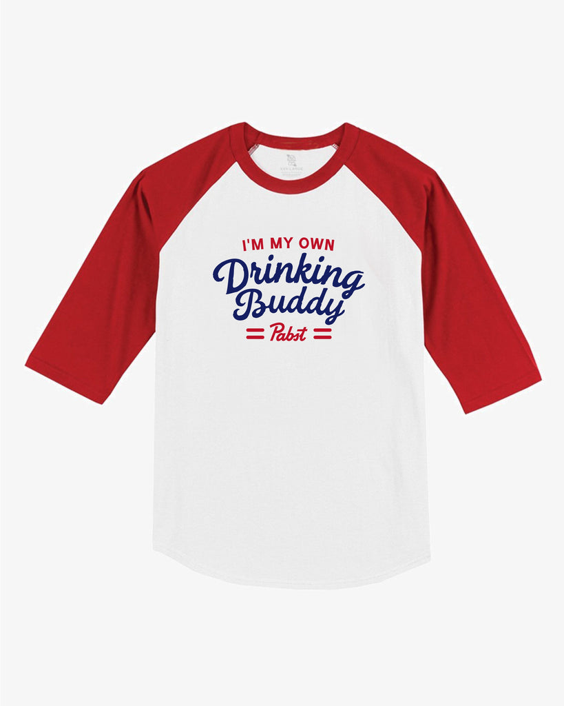 I'm My Own Drinking Buddy Unisex Raglan