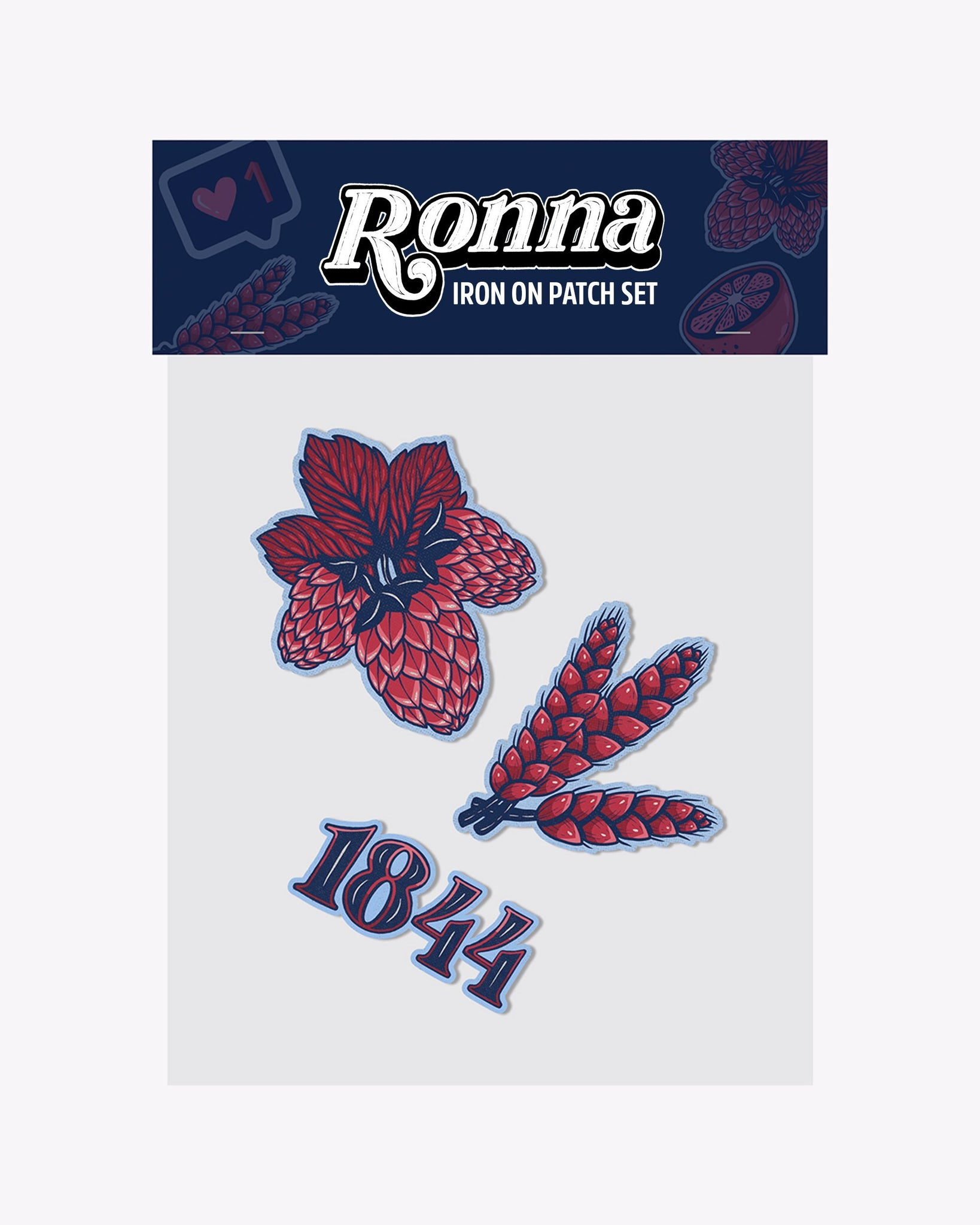 Ronna Patch Pack- Beer