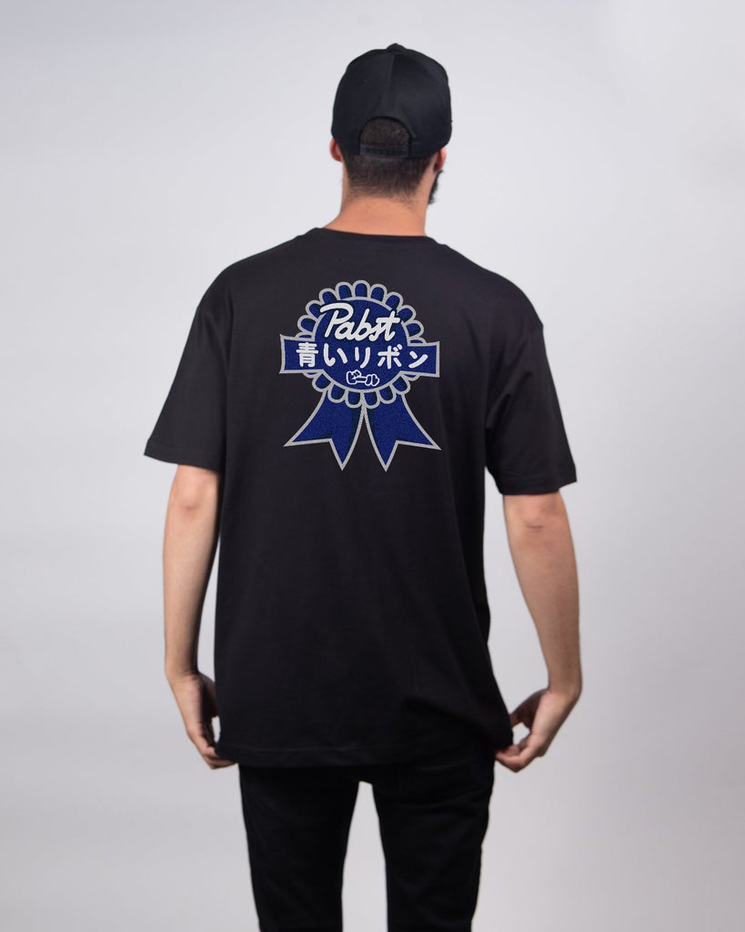 Art Can Gaijin Short Sleeve Tee - Pabst Blue Ribbon Store