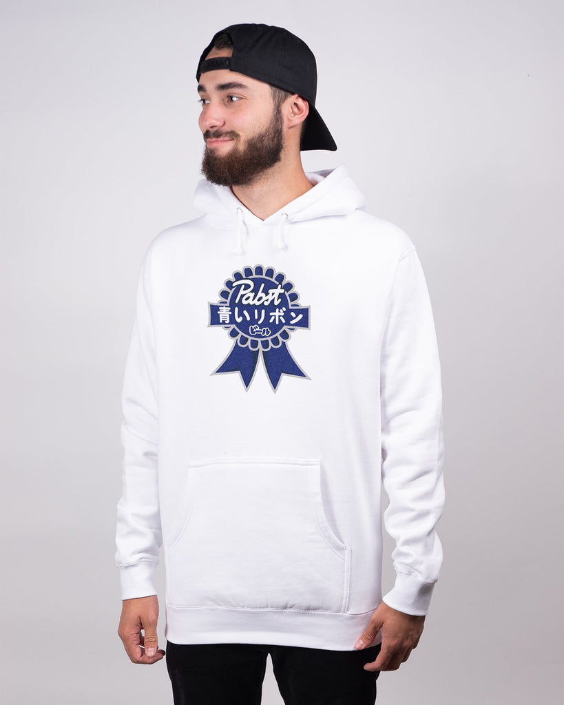 Art Can Gaijin Hoodie - Pabst Blue Ribbon Store