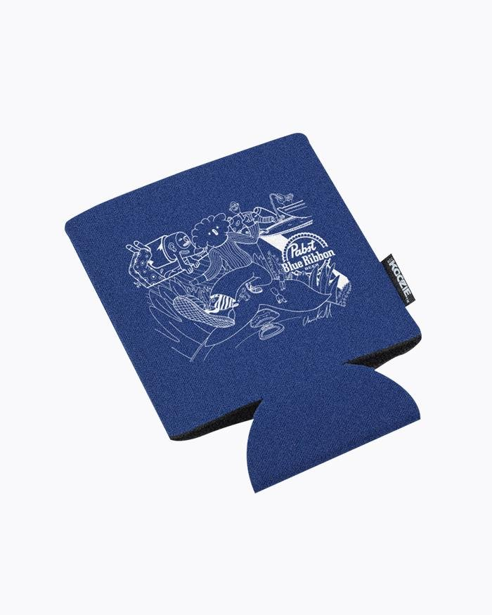 Art Can Charlies Koozies - Pabst Blue Ribbon Store