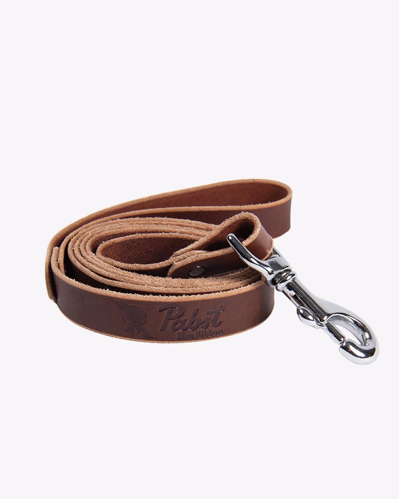 PBR Leather Dog Leash
