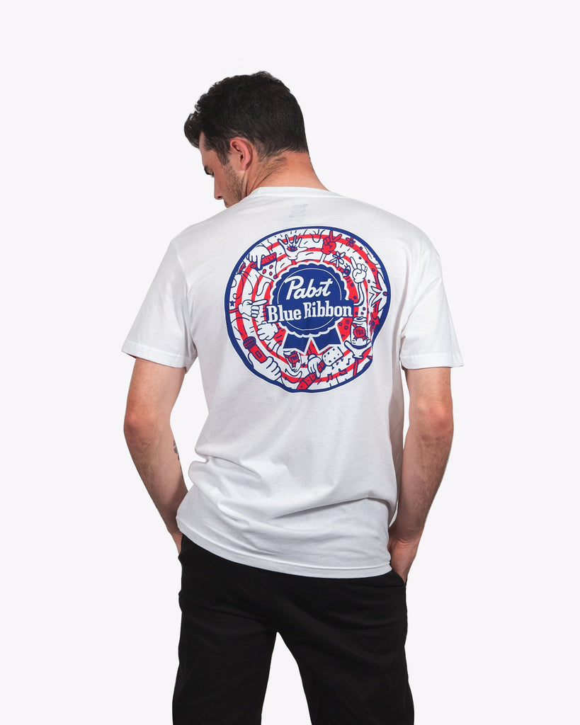 Pizza.Party.Pabst.Repeat Tee