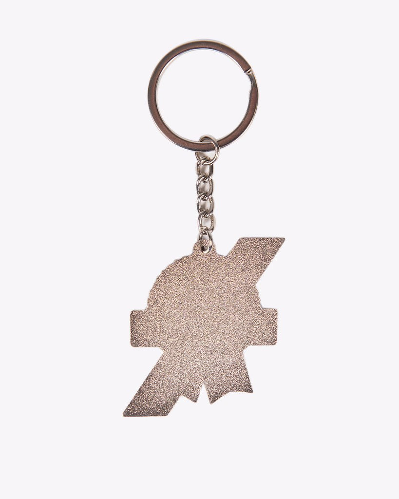 Metal Ribbon Keychain