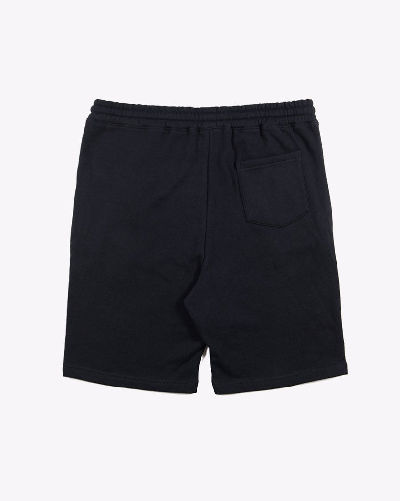 Banner Lounge Shorts- Black