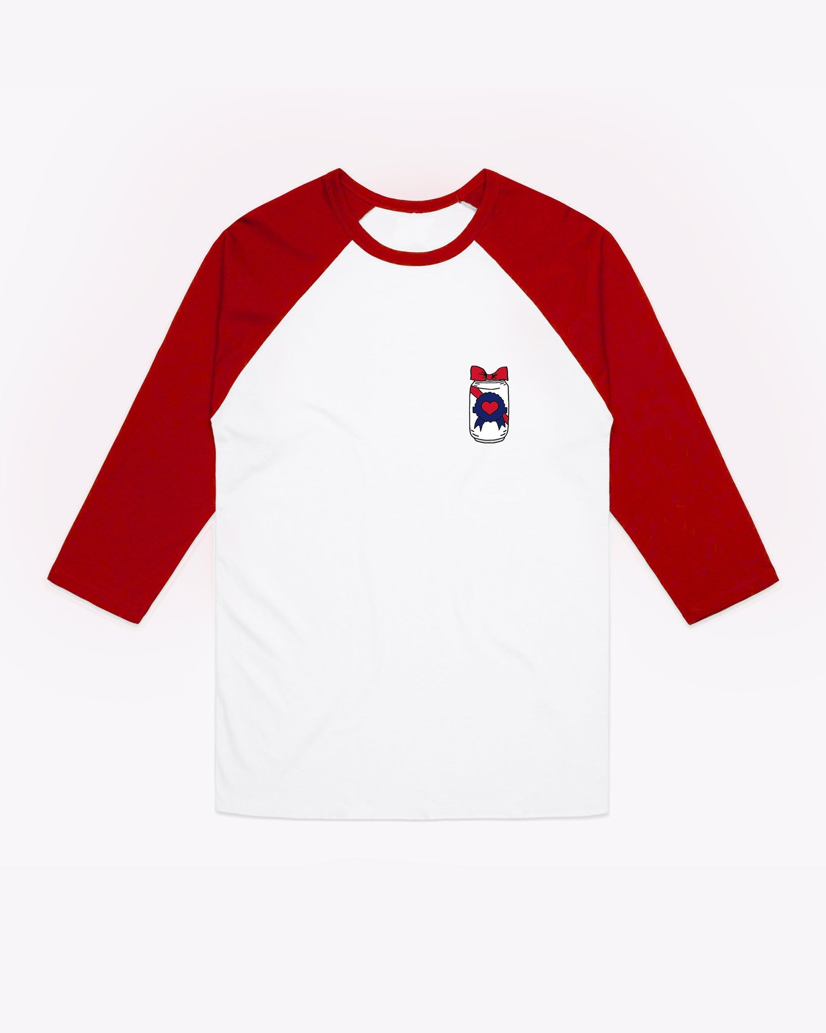 Drinking Buddy ¾ Raglan – Bow Can