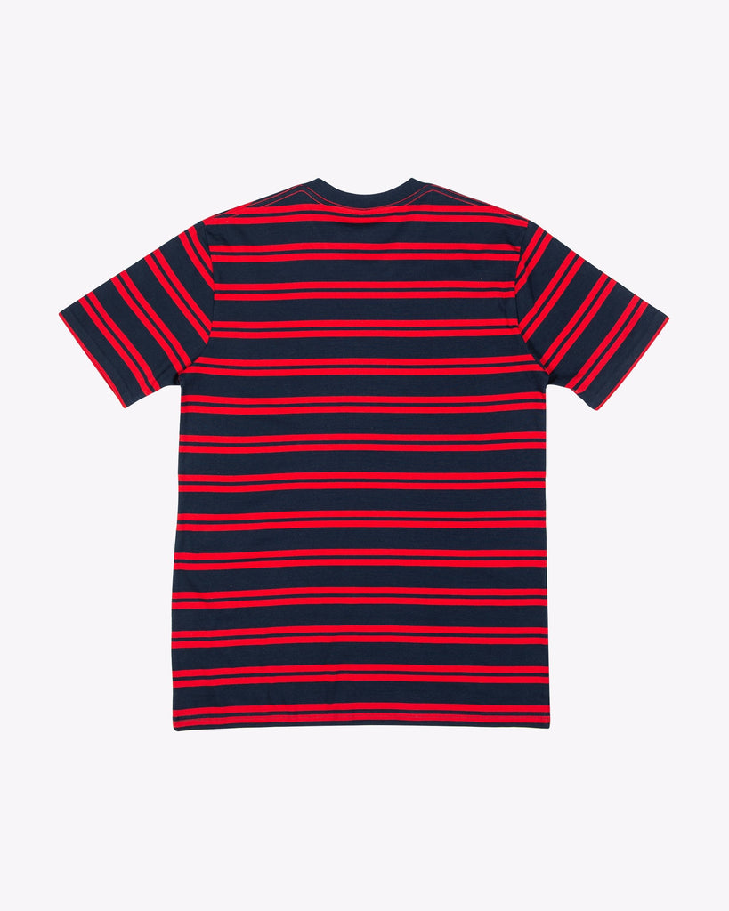 Duffy Stripe Tee - Pabst Blue Ribbon Store