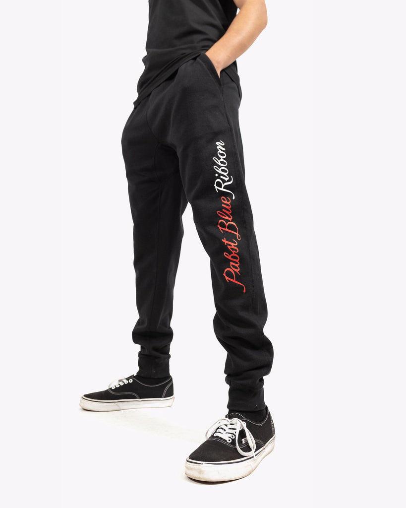 Script Jogger Sweatpants - Pabst Blue Ribbon Store