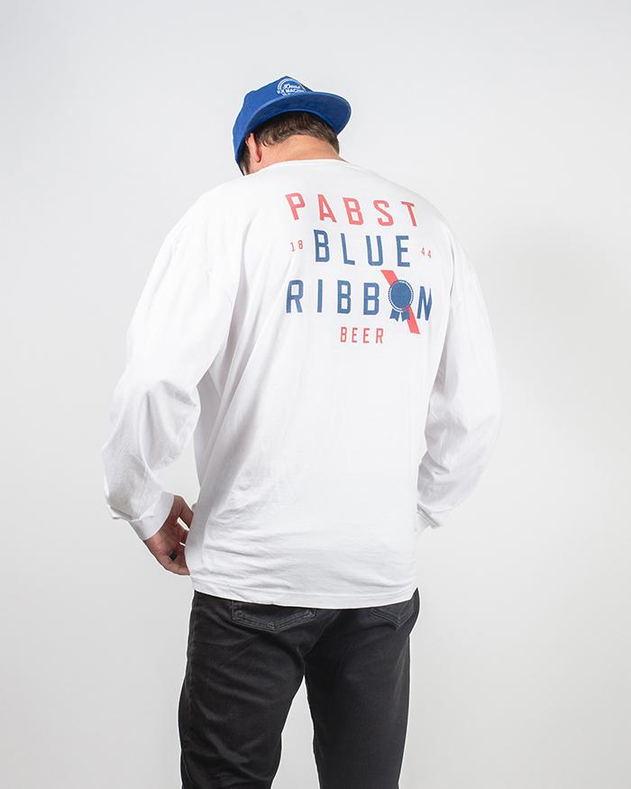 Heritage Long Sleeve Tee - Pabst Blue Ribbon Store