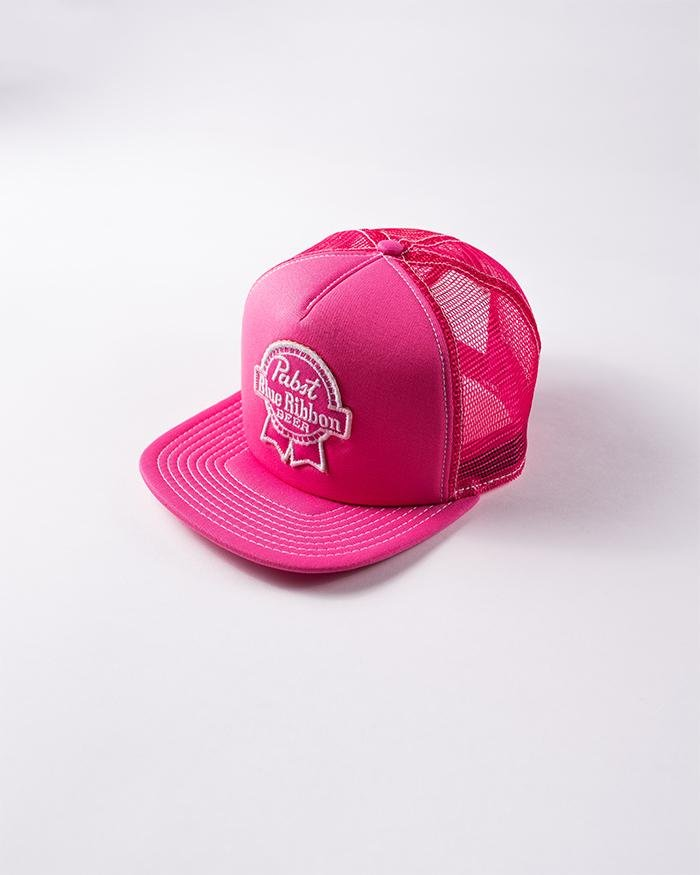 PBR Patch Hat- Pink