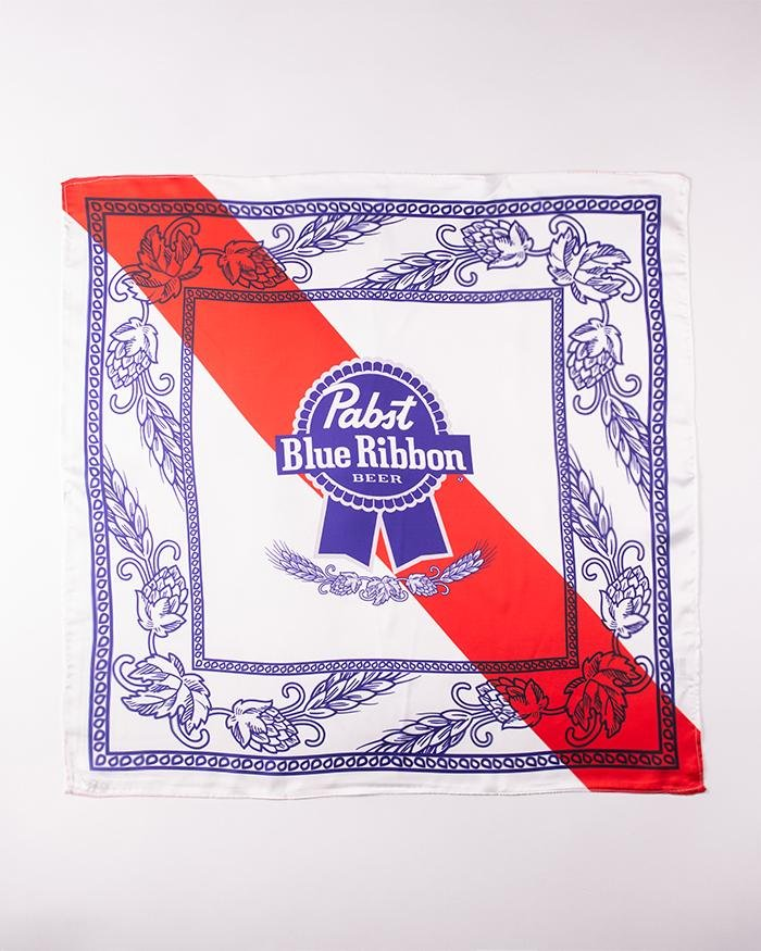 Silk Bandana Pack - Pabst Blue Ribbon Store