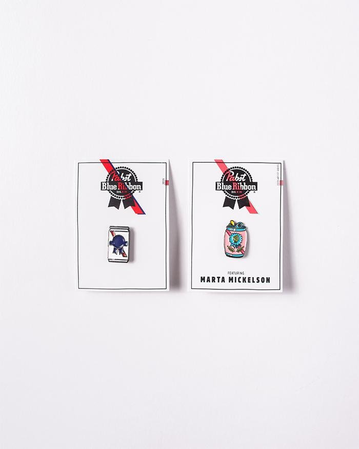 Limited Edition Lapel Pin Pack - Pabst Blue Ribbon Store