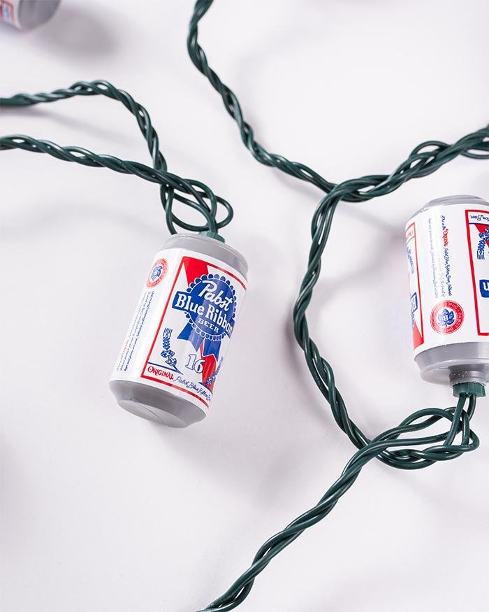 PBR CAN LIGHTS - Pabst Blue Ribbon Store