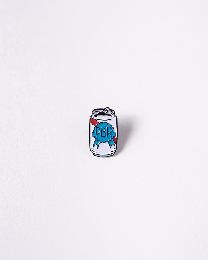 PBR Art Lapel Pin - Pabst Blue Ribbon Store