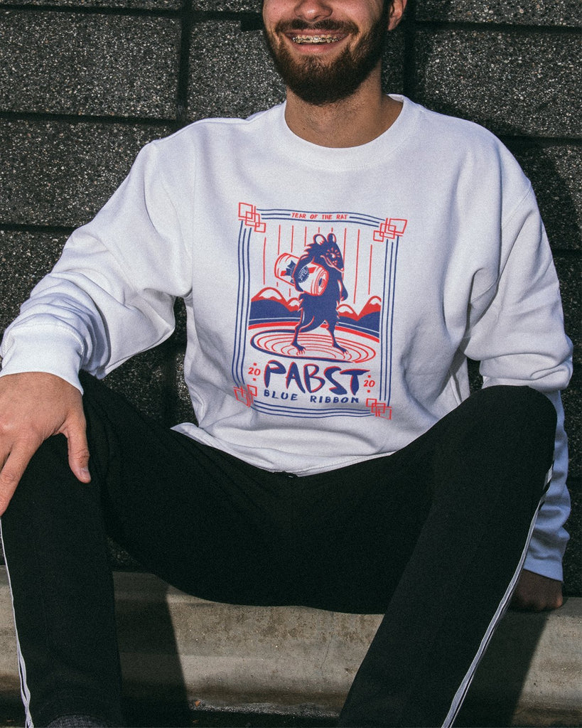 Men's Year Of The Rat Crew-neck Fleece