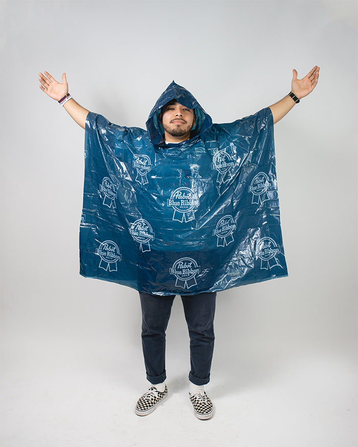 PBR PONCHO - Pabst Blue Ribbon Store