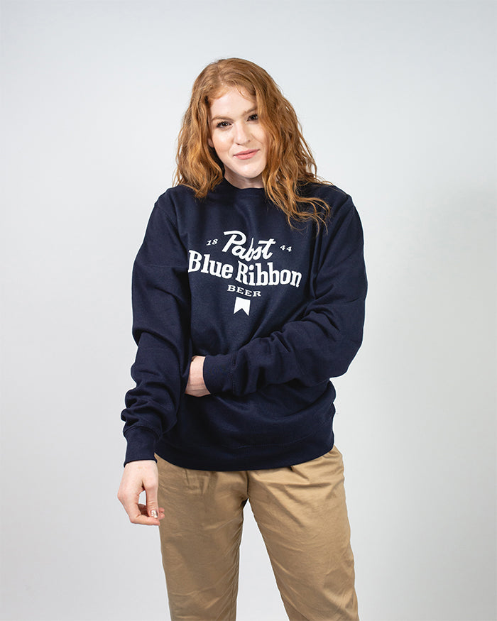 Ribbon Crewneck Fleece