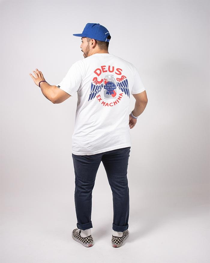 PBR X DEUS Men's Pocket Tee