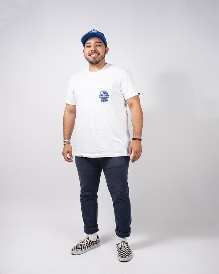 PBR X DEUS Men's Pocket Tee - Pabst Blue Ribbon Store