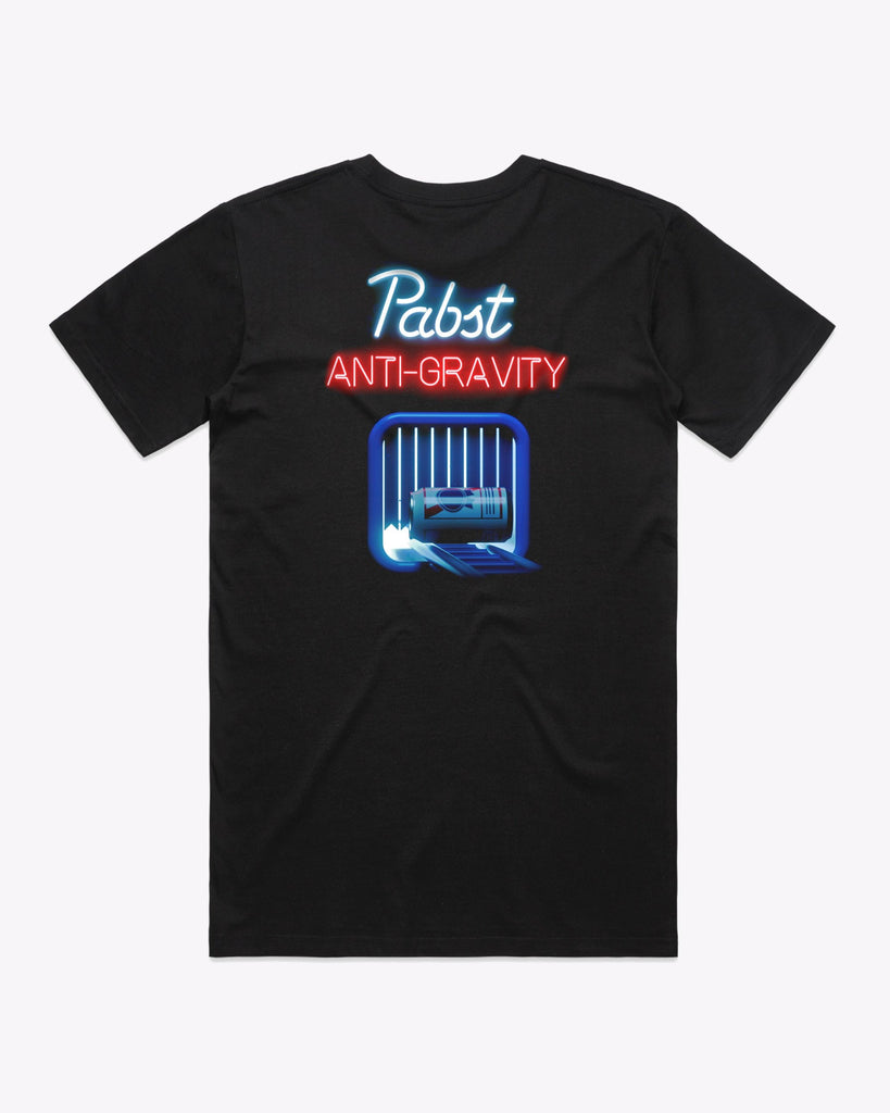 Art Can Travis Ragsdale Anti Gravity Tee - Pabst Blue Ribbon Store