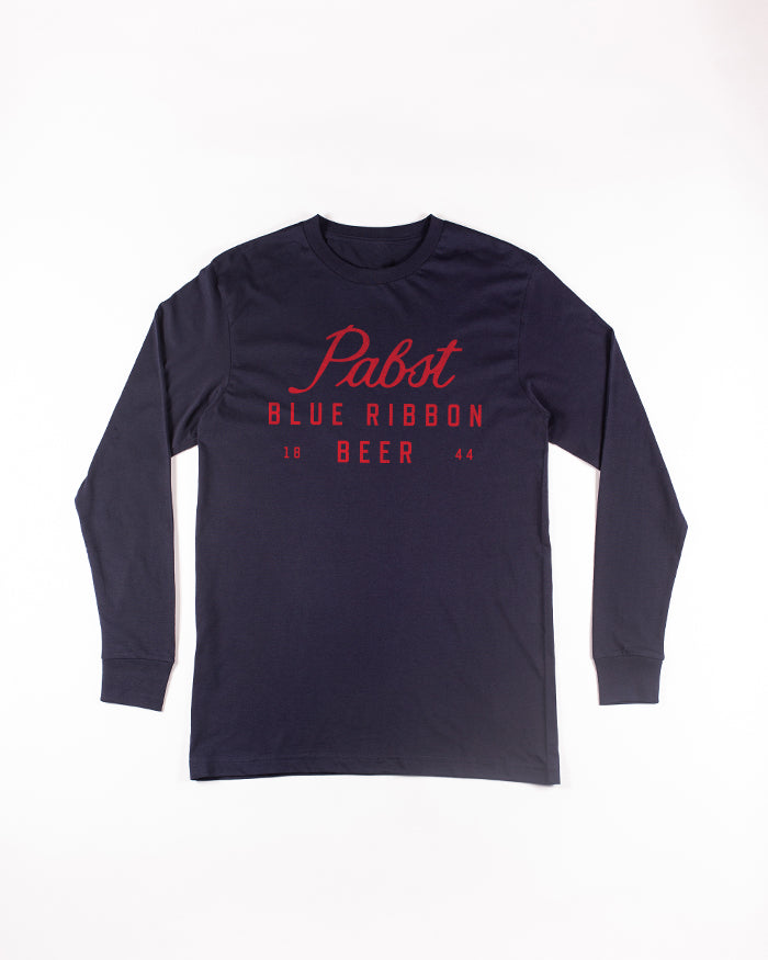 Scripted L/S - Pabst Blue Ribbon Store