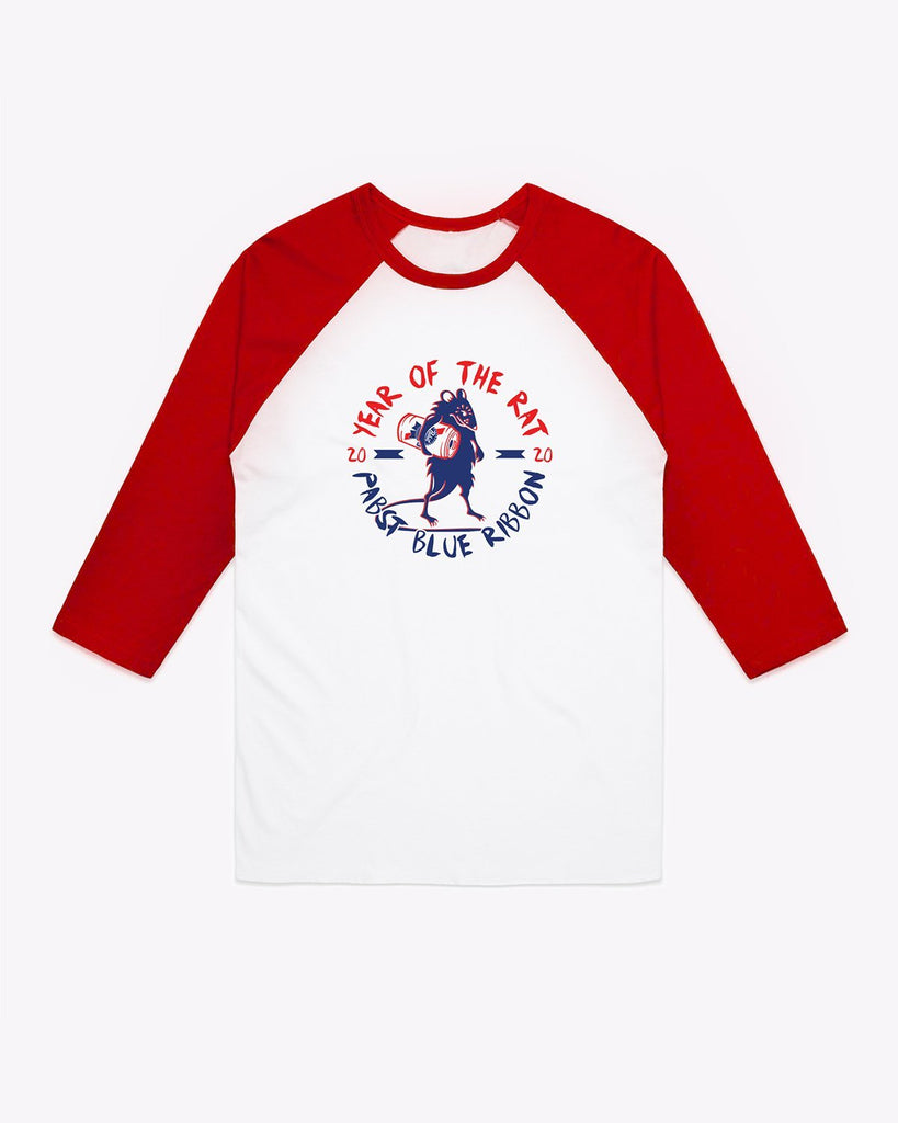 Men's Year Of The Rat 3/4 Raglan
