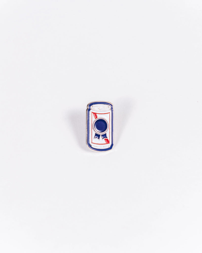 PBR Can Enamel Pin - Pabst Blue Ribbon Store