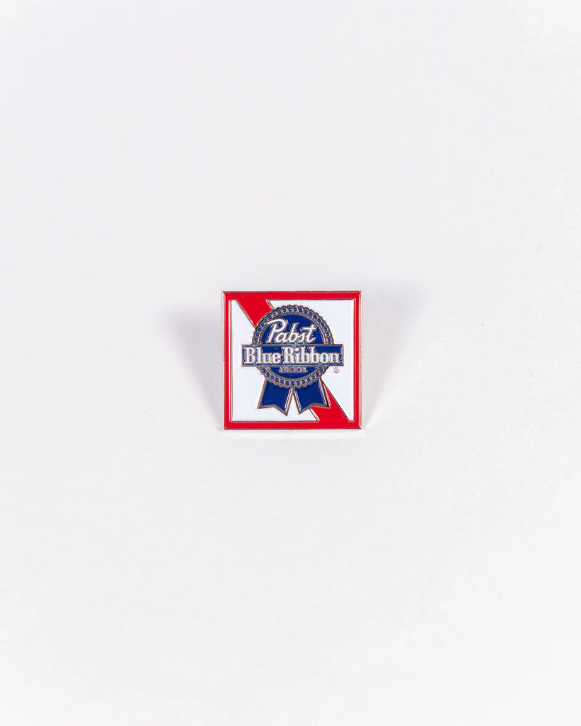 PBR Ribbon Enamel Pin - Pabst Blue Ribbon Store