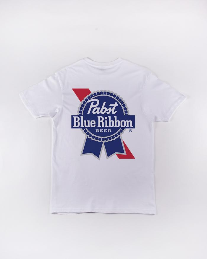 Ribbon Tee - Pabst Blue Ribbon Store