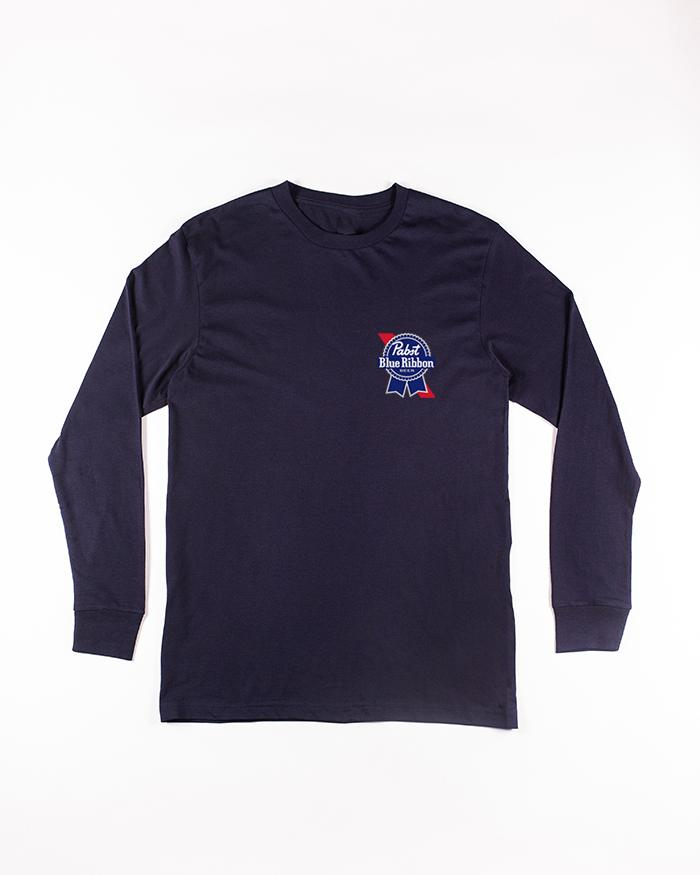 Legacy Long Sleeve Tee - Pabst Blue Ribbon Store