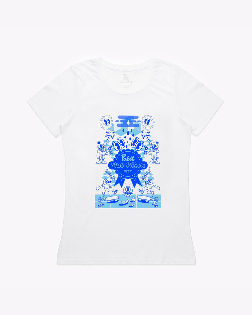 YAI Original Women's Tee- White