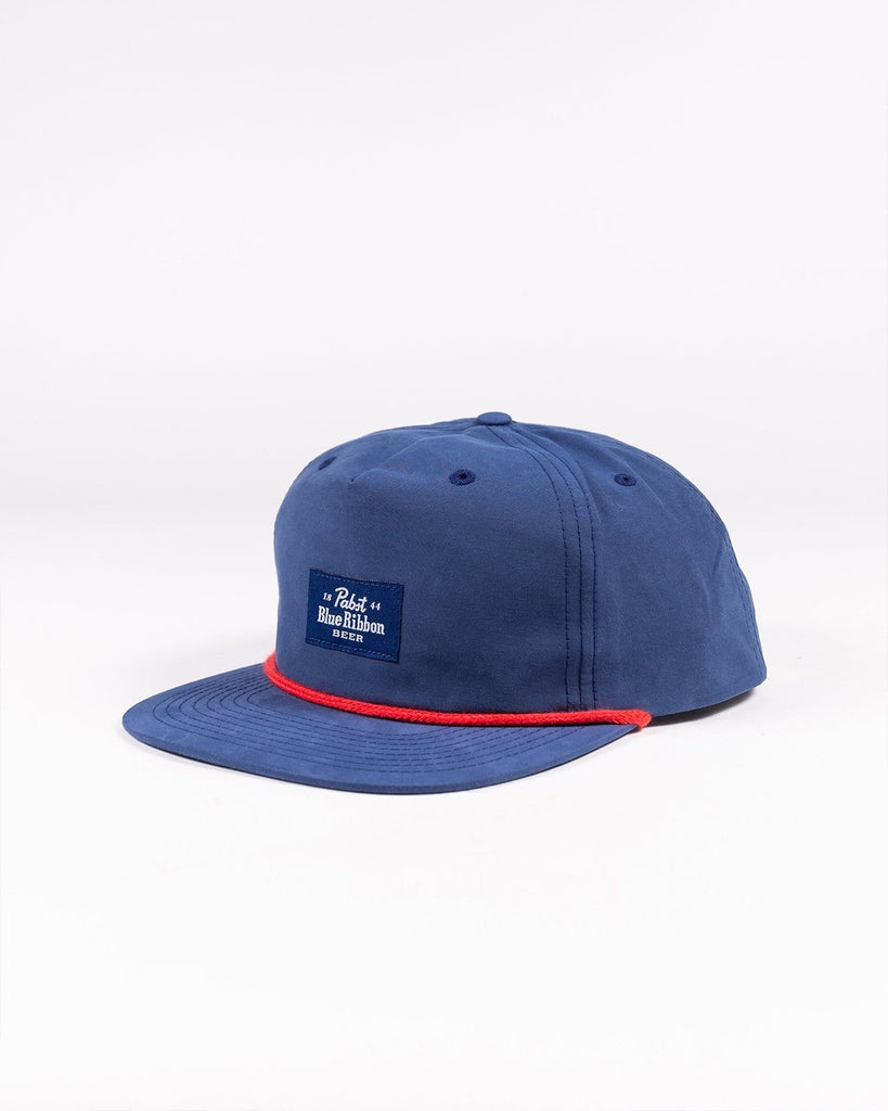 Label Snapback- Navy