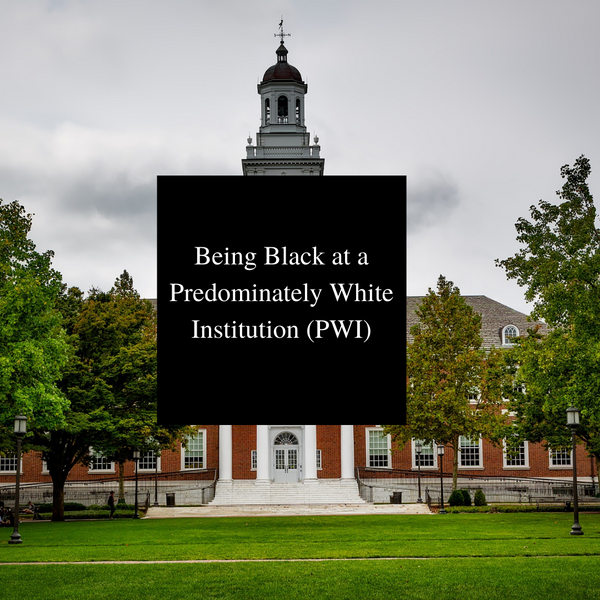 The Life of a Black Student in an Predominately White Institution (PWI)