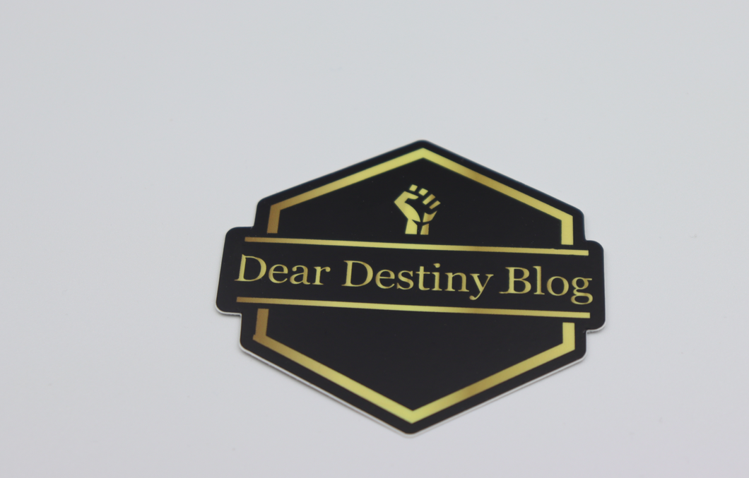 Dear Destiny Laptop Sticker