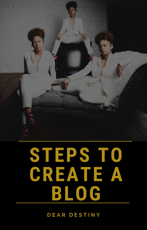 Steps To Create A Blog