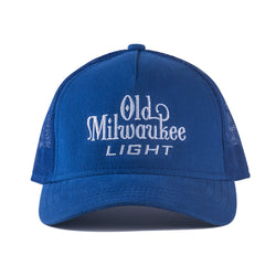 OLD MIL LIGHT TRUCKER HAT - ROYAL