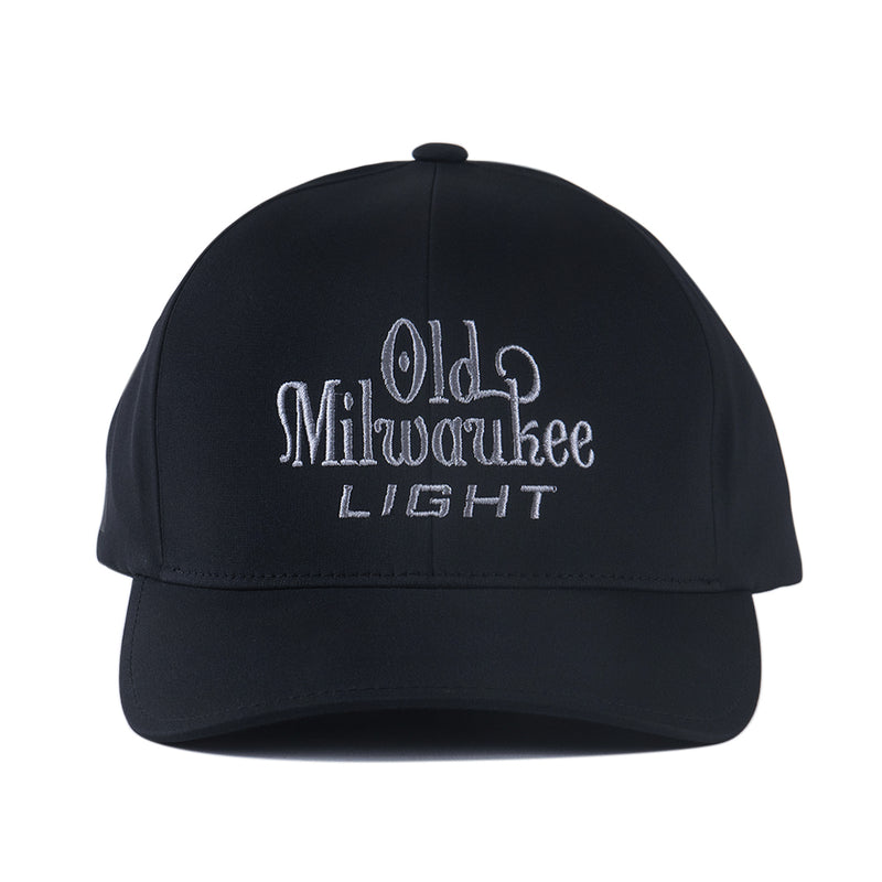 OLD MIL LIGHT FITTED HAT - BLACK