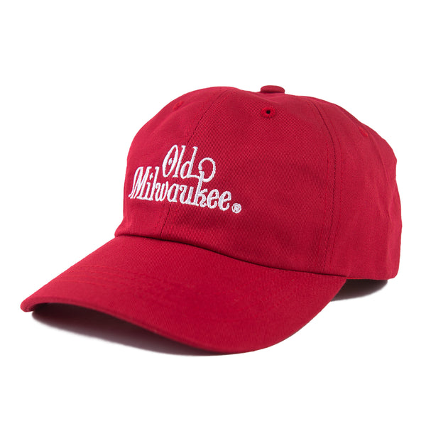 OLD MIL DAD HAT - RED