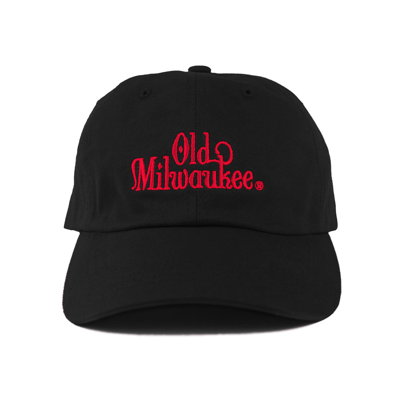 OLD MIL DAD HAT - BLACK