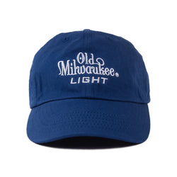 OLD MIL LIGHT DAD HAT - ROYAL