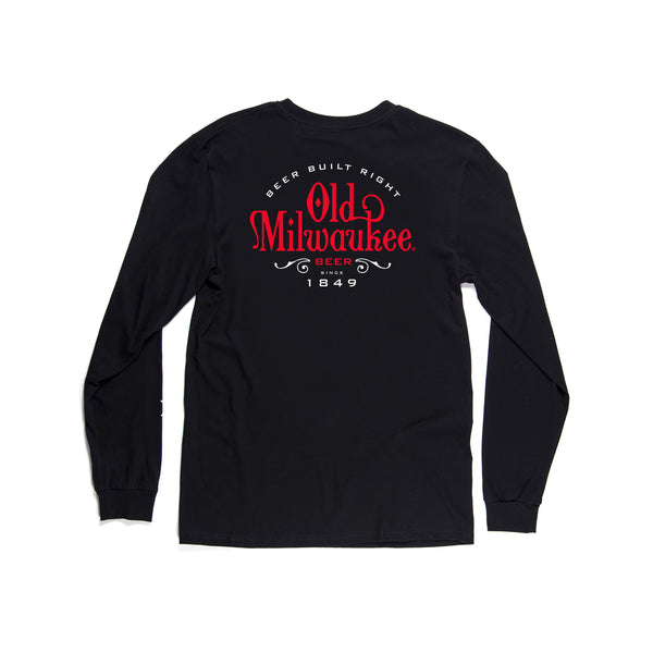 Classic Long Sleeve Tee Black