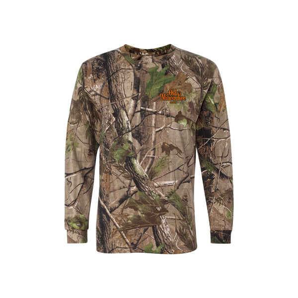 OLD MIL CAMO LONG SLEEVE TEE